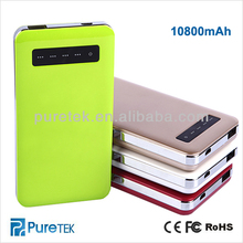 Manufacture for portable power bank 10800mAh , factory direct delivery