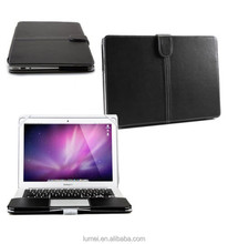 Smart Black PU Leather Sleeve Case Cover For Apple MacBook Retina & Air