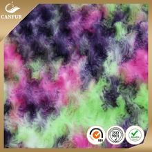 China Factory Wholesale brushed short pile PV plush fabric