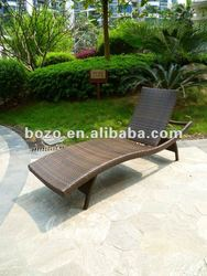 express alibaba high Quality Sun Lounger,aluminum cane chaise lounge with mattress,beach chair,made in China