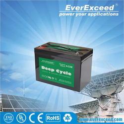 EverExceed deep cycle dry battery 12v for ups