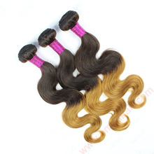 Wholesale Virgin Peruvian Body Wave Hair Ombre Hair Extension Pay Pal Payment Curly