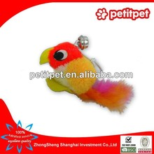 plush fabric cat toyslove birds stuffed plush bird toys/small cat toys
