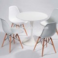 colores blanco y negro ronda de té tulip mesa de comedor muebles para el hogar