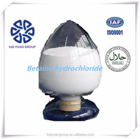 china supplier alibaba raw material Betaine Hydrochloride 98% CAS#107-43-7with increase lean meat percentage