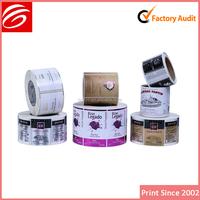 adhesive shampoo label packaging print