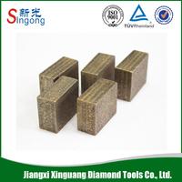 Hot sale diamond stone cutting segments tips for sandstone
