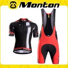 sport team clothing Monton popular style of bib short sleeve sets
