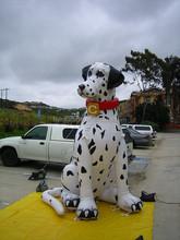 2015 new advertising cartoon model inflatable Dalmatian