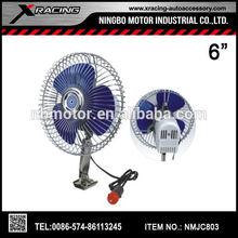 "XRACING 2015 NMJC803 6"" STEEL CAR FAN 12V / 24V auto fan/12v car heater fan and mini air conditioner for car"