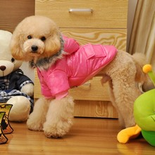 Trade Assurance 2015 Lovable Dog Clothes Winter Fashion Pet Clothing Dog Fur Clothes
