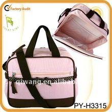 fashion polyester baby travel changing bag