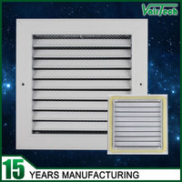popular in the Middle East powder coated aluminum return air fixed type air conditioner grille