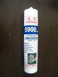 RTV silicone flange sealant 5900 with anti falling-off and aging