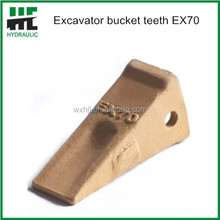 Top quality EX70 G.E.T excavator spare parts bucket teeth wholesale