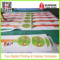 Window and wall sticker design printing
