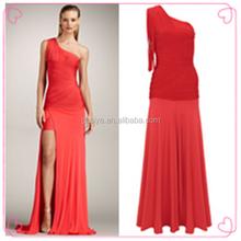 bohem tarzı anne gelin elbise kırmızı uzun kollu görüyorum balo elbise