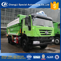 iveco technology hongyan left hand driving sealed dump truck for hot sale