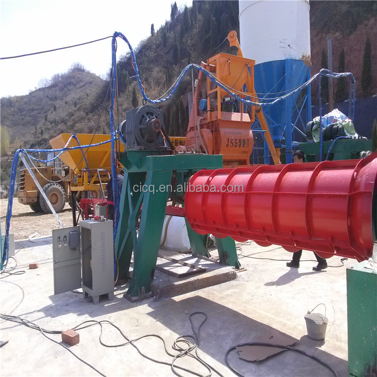 Reinforced Concrete Pipe Making Machine For Drainage