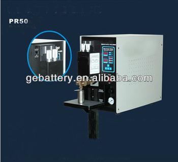 Pulso dual programable spot soldador pr50 para la batería de li-ion, las pilas de botón