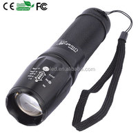 XM-L T6 led Torch Zoomable LED Flashlight Torch light For 3xAAA or 1x18650 battery