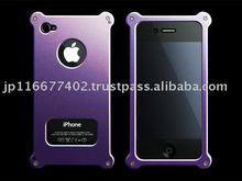 Aluminum Jacket type 02(for iPhone4/iPhone4S), Case, Cover, Hard case, Protect, Tough