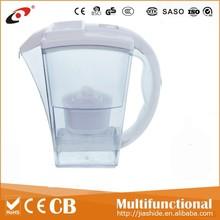 Plastic water filter pitcher/ brita / water filter jug/CE,ROHS,LFGB,NSF