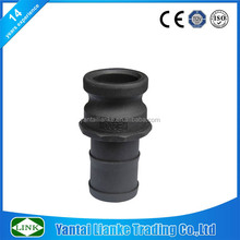 plastic camlock coupling male adaptor f for tube connectors,male barb x male coupler thread