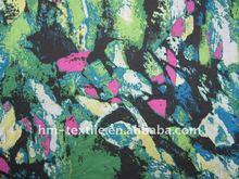 2012 new design 15D soft paper printed chiffon fabric