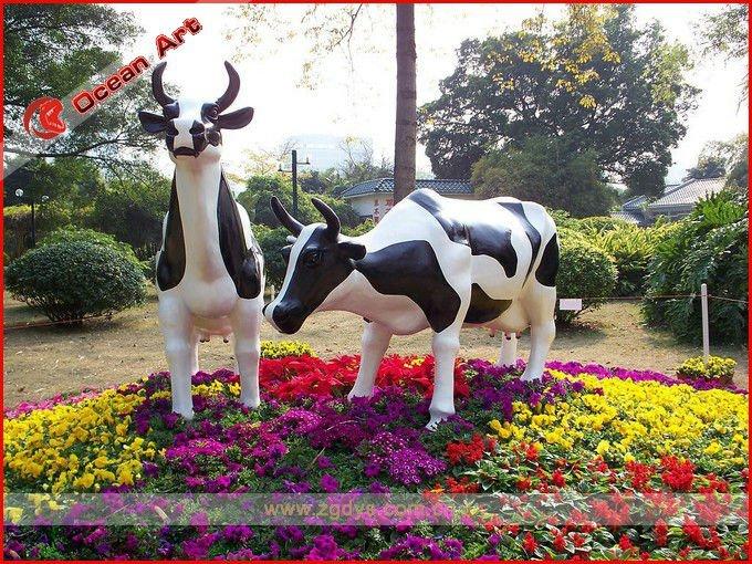 Vache Pour Decoration Jardin: Mariage deco and decoration on.