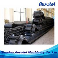 conveyor belt with sides vulcanizing production line
