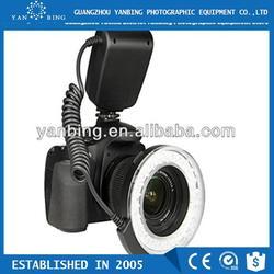 Factory supply marco led ring light for canon nikon panasonic dslr camera
