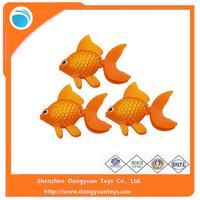 Plastic Floating Vinyl Goldfish Toy