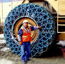 snow chain for used forklift tyre 23.5-25