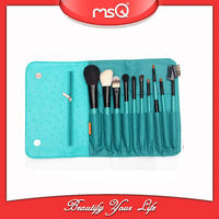 2014 MSQ New 10pcs Beautiful Brush for Makeup,Good Animal Hair Cosmetic Kit