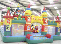 2016 guangzhou inflatable Funcity GK-FN26 ,new commercial inflatable bouncer /inflatable jumping house/cheap bouncy