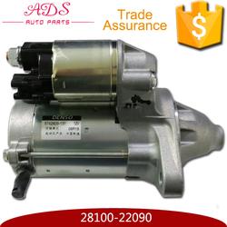 Japan made high technology starter motor for corolla oem 28100-22090