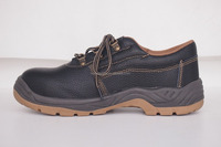 Low-cut PU sole steel toe stylish safety shoes for working/construction