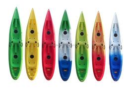 LLDPE double person sea kayak / boat double sit on top kayak fishing kayak