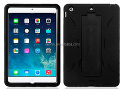 for mini ipad, wholesale 3 in 1 protective back cover for mini ipad