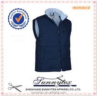 Sunnytex 2015 Cheap Wholesale Customised Mens Winter Waistcoat