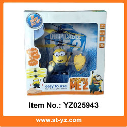 2015 wholesale Shantou toys for kids minions despicable me rc aircraft flying aeroplane toys Minions