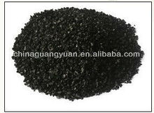 Sugar with activated charcoal