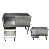 2015 Good Quality Stainless Steel Dog Tub/H-103