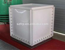 frp smc de agua del tanque de almacenamiento 1m3 tanque pequeño