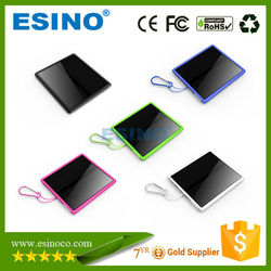 2015 Best selling products solar powerbank 15000 mah solar power bank