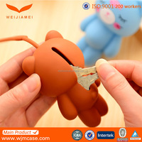 Wholesale cartoon style silicone key cover color may vary