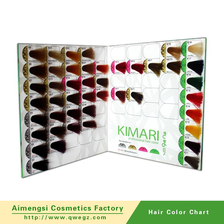 2016 chantillon gratuit cosmtiques en gros deux pli soyeux cheveux couleur de mlange tableau fabricants - Tableau Coloration Cheveux