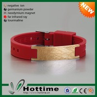 Wholesale Bio Elements Energy Fashion Mens 316L Stainless Steel Bracelet