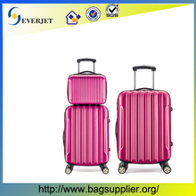 Fashionable trolley bag/travel case/abs luggage